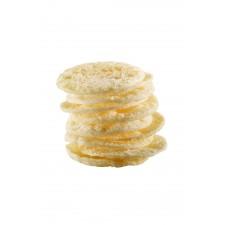 Patatas fritas de soja con sal y vinagre