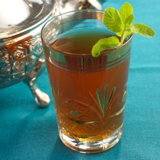 Moroccan mint tea Booster drink