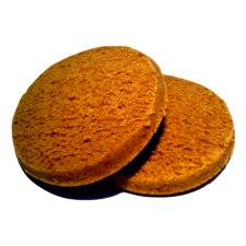 Lot de 2 Biscuits moelleux Booster saveur pain d'épice sans gluten
