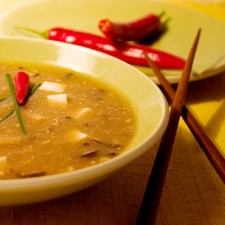 Asian style soup